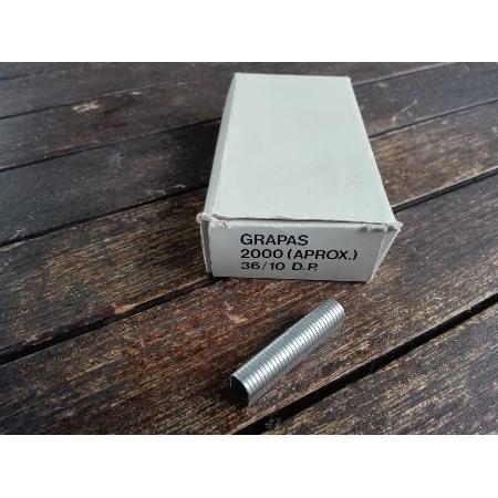CAJA 2000 GRAPA PARA CABLE 36/10