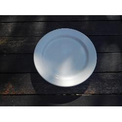 HOSTEL PLATO PAN BLANCO 15 CMS