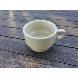 FYH TAZA CAFE CON LECHE APILABLE OCRE 75X50