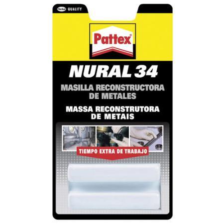NURAL -  34 GRIS  (1 PASTILLA 50 GRAMOS)