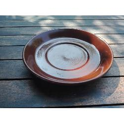 RETRO PLATO MARRON 165 MM