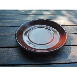 RETRO PLATO TAZA MARRON 145 MM