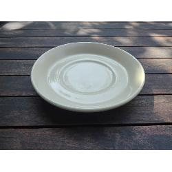 RETRO PLATO TAZA OCRE 165 MM