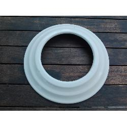 WESTER EMBELLECEDOR TUBO BLANCO 125 MM