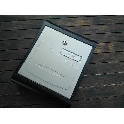 JOMA BUZON HALL-10 NEGRO-INOX 30X24X8 CMS