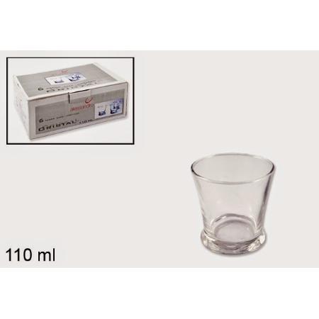 P/6 VASO CAFE CORTADO 110 ML