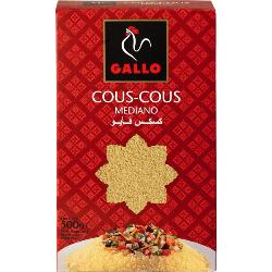 GALLO PASTA COUS COUS MEDIANO 500 GRS.
