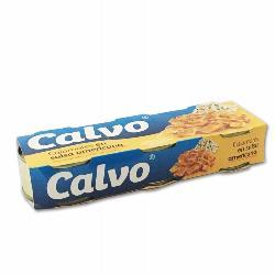 CALVO CALAMAR SALSA AMERICANA 3 PACKS 80 GRS.