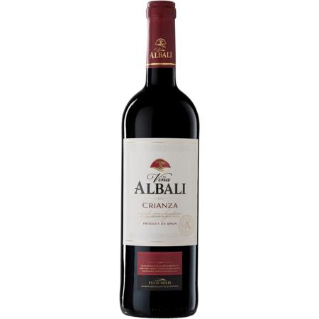 VALDEPEÑAS TINTO ALBALI CRIANZA 750 CC 12,5 G.