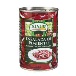 ALSUR ENSALADA PIMIENTO ASADO LATA 410 GRS.
