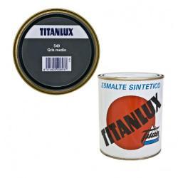 TITANLUX GRIS MEDIO 549 750 ML.