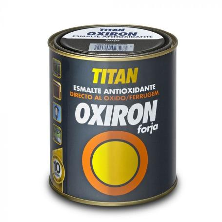 TITAN OXIRON GRIS ACERO 750 ML.
