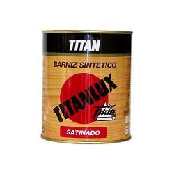 TITAN BARNIZ SATINADO TRANPARENTE 250 ML.