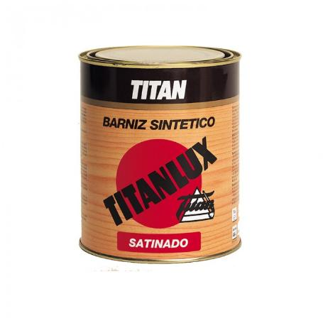 TITAN BARNIZ TRANSPARENTE SATINADO 125 ML.