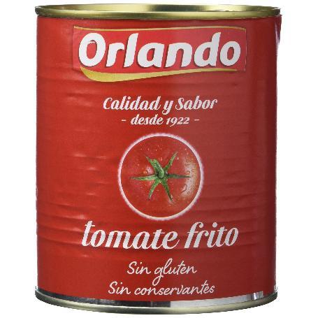 ORLANDO TOMATE FRITO LATA 800 GRS.