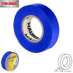 CINTA AISLANTE, PVC, PROFESIONAL, 25 METROS X 19 MM. X 0,13 MM ESPESOR. COLOR AZUL