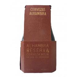 CERVEZA RESERVA ALHAMBRA 1/3 PACK 4 UND