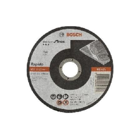 DISCO ACERO BOSCH INOX 115X1