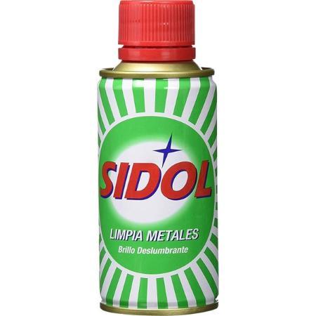SIDOL LIMPIAMETALES 150 ML.