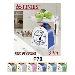 BALANZA DE COCINA 5 KGS. TIMES