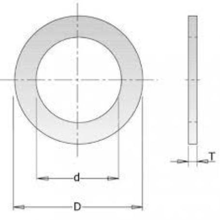 ANILLO REDUCTOR 30-28X1,2 MM STEHLE