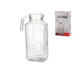 JARRA FRIGO 1,8 LTS. TAPA BLANCA CRISTAL