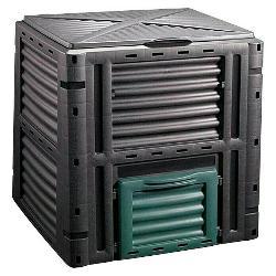 COMPOSTADOR PLASTICO 450 L, 80 X 80 X 80 CM