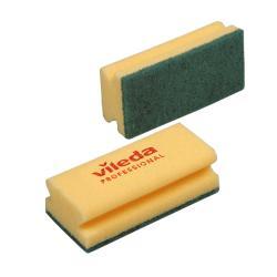 Estropajo Verde con esponja...