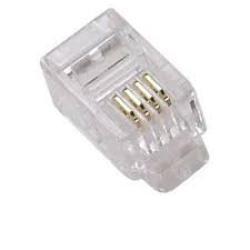 EDC CONECTOR TELEFONO 6P4C RJ11