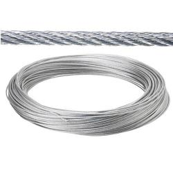 CABLE GALVANIZADO 7  MM.   (ROLLO 100 METROS) NO ELEVACION