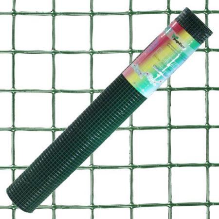 MALLA PLASTIFICADA CORRAL  13X13/100  ROLLO 10 METROS