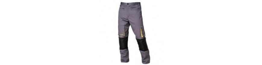 Pantalon multibolsillos largo