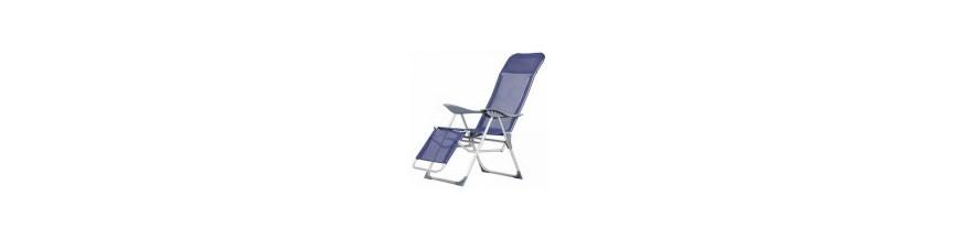 Tumbonas y sillas playa