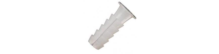 Taco plastico blanco