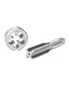 producci/ón UE Terraja M8 x 0,75 Calidad HSS Rosca fina DIN ISO 13 Incluye portaterrajas
