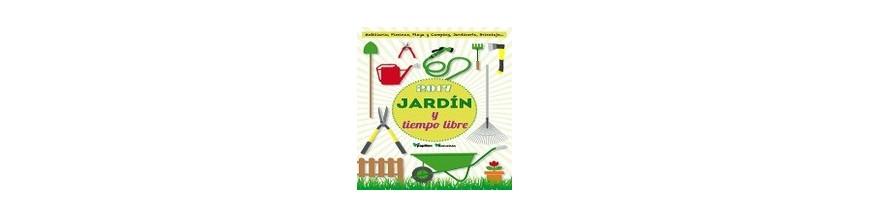 Folleto Jardin y tiempo libre